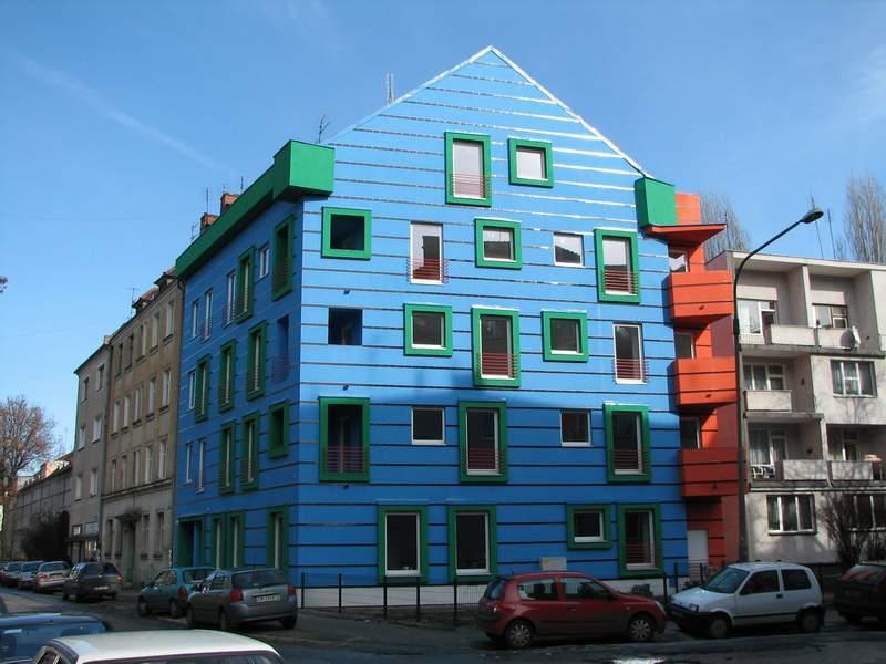 Daszyńskiego - budynek